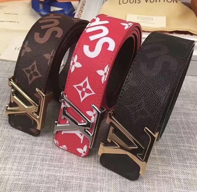 rivenditore all'ingrosso 5494a f4b44 Cintura Supreme x Louis Vuitton